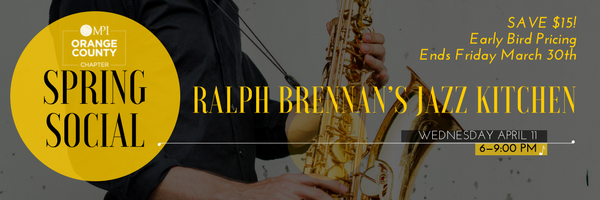MPIOC 2018 Spring Social @ Ralph Brennan's Jazz Kitchen | Anaheim | California | United States
