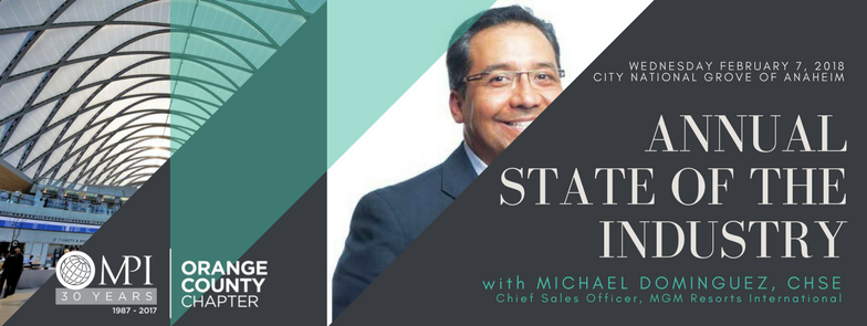 State of the Industry with Michael Dominguez @ City National Grove of Anaheim | Anaheim | California | United States