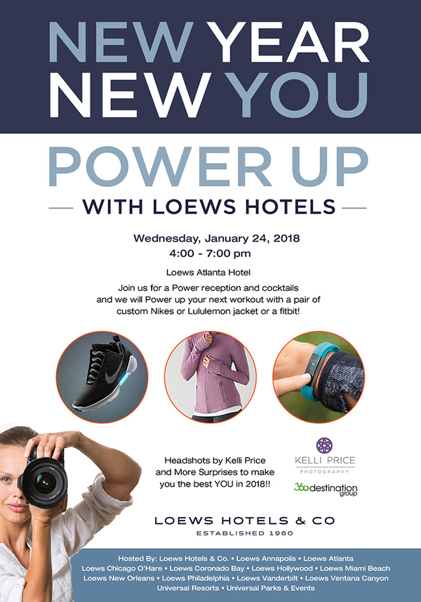 New Year New You - Power Up 2018