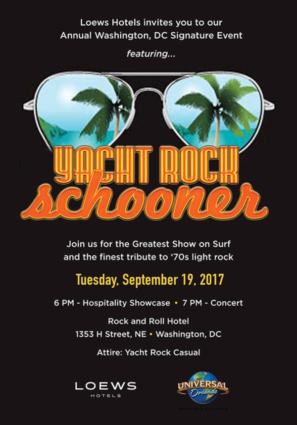 Loews Signature Event- Yacht Rock Schooner