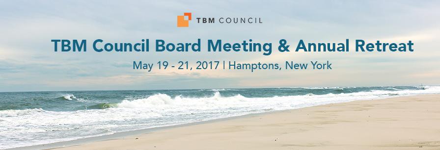 TBM Council Board Meeting & Annual Retreat
