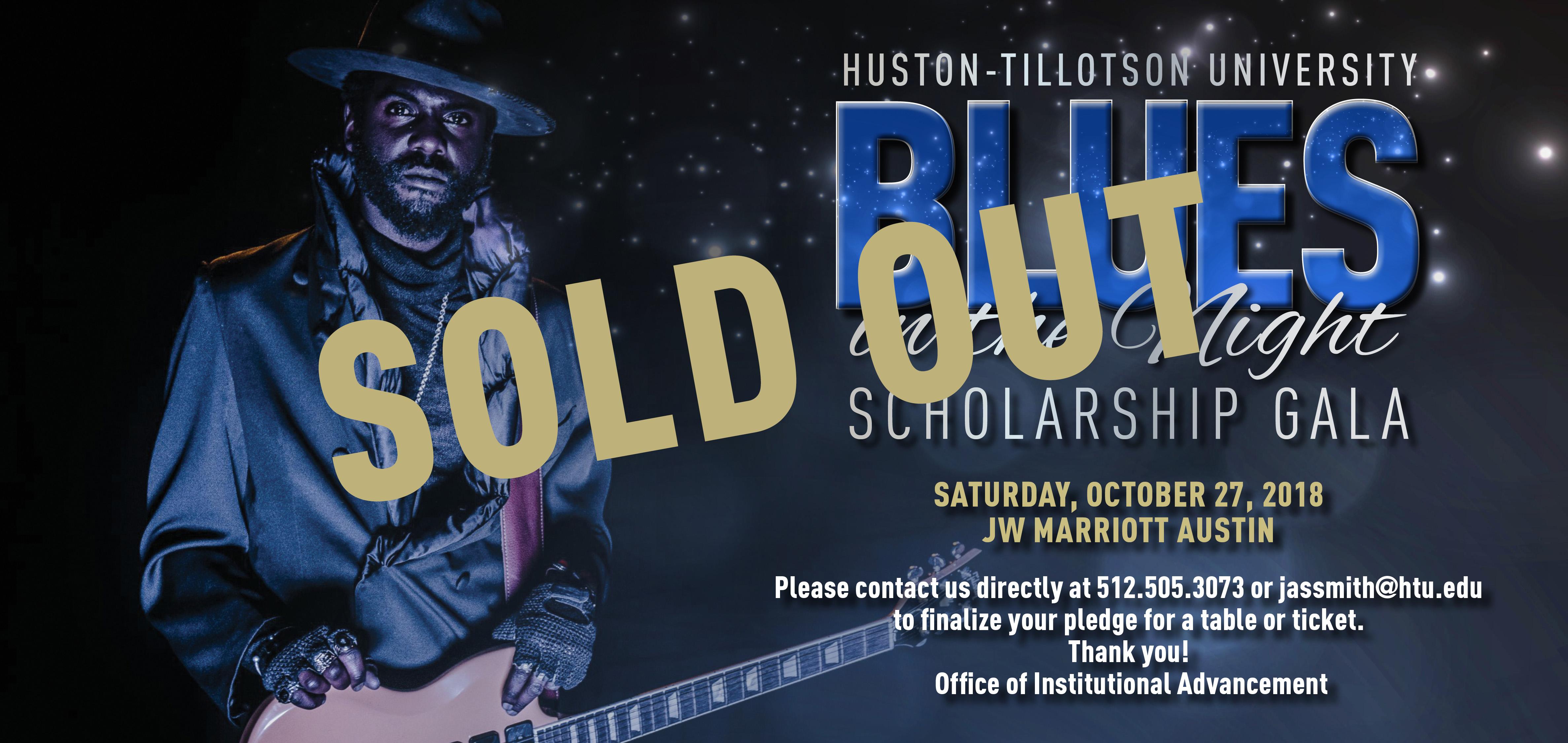 "Huston-Tillotson University ""Blues in the Night"" Scholarship Gala 2018"