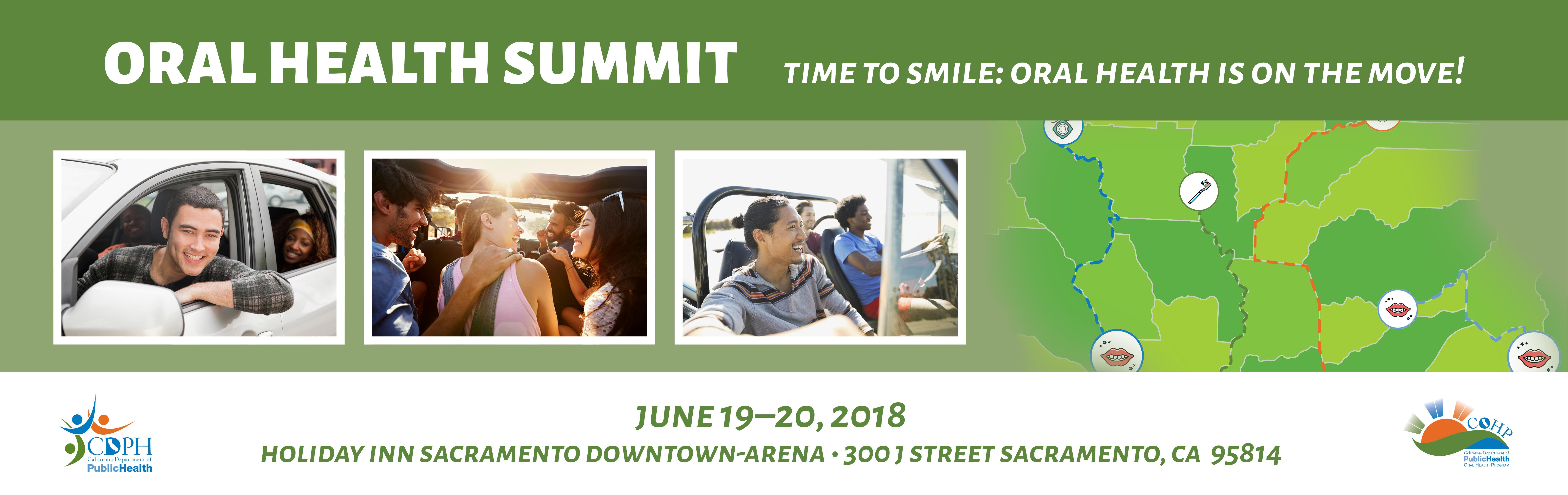 Oral Health Summit June 19-20, 2018
