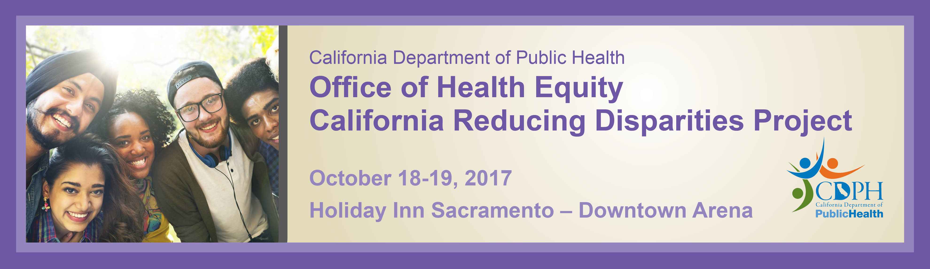 Office of Health Equity | California Reducing Disparities Project - October 2017