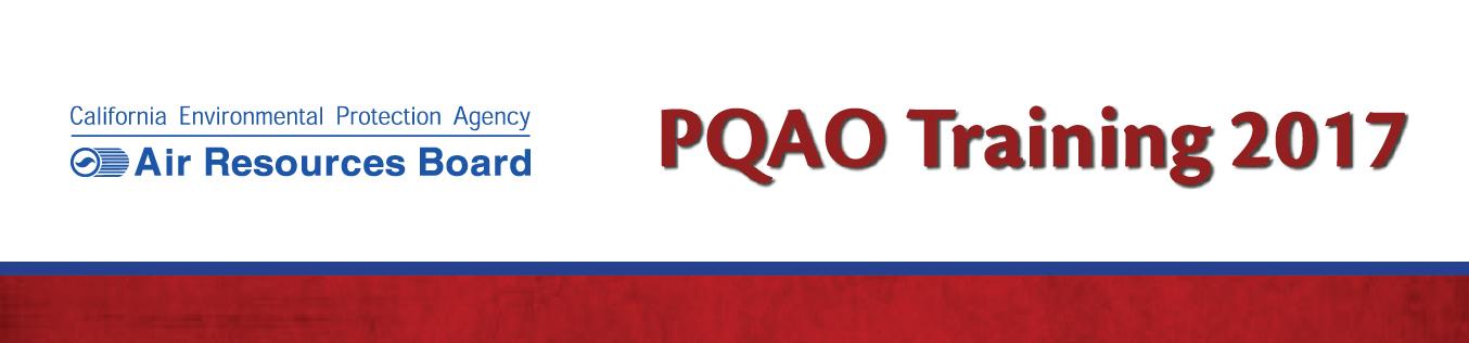 PQAO Training 2017