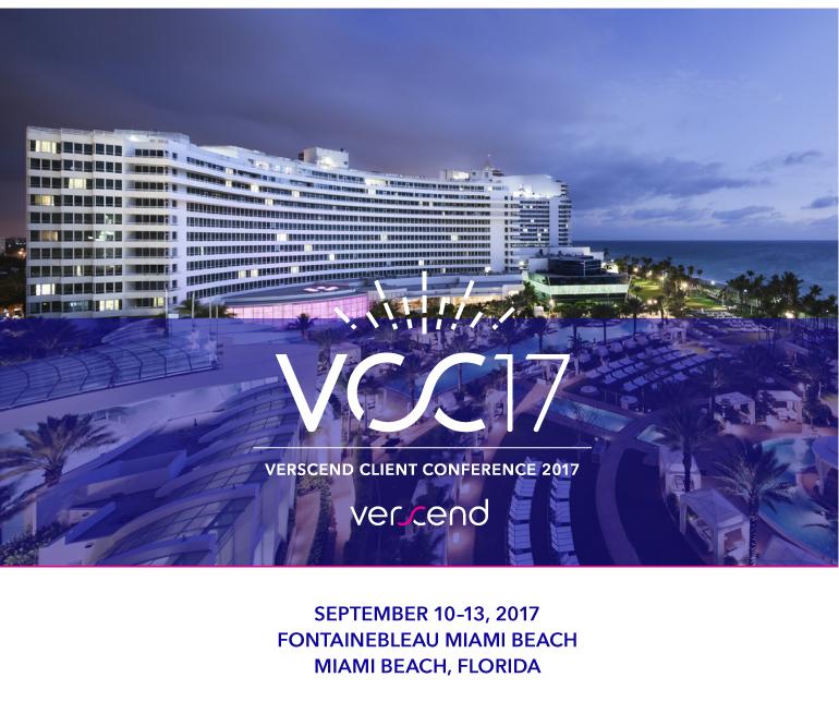 Verscend Client Conference 2017