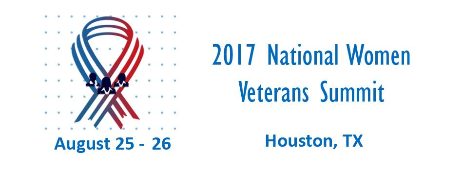 Women Veterans Summit Banner HD Logo