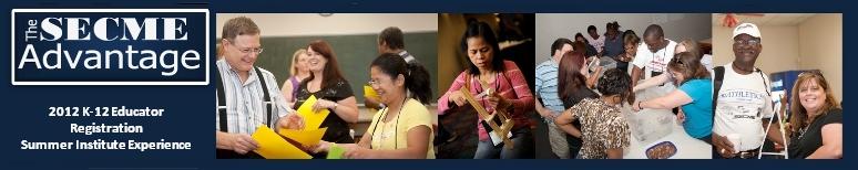 The SECME K-12 STEM Summer Institute Experience