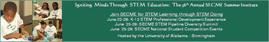 38th Annual SECME Summer Institute