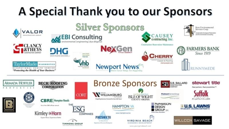 Event Sponsors Silver Bronze 04.16.18