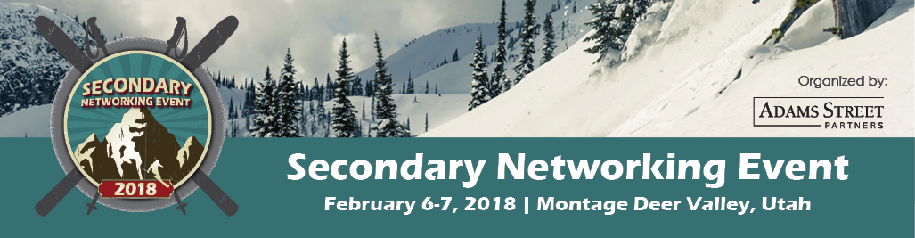 2018 Secondary Networking Event