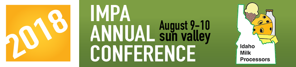 2018 Idaho Milk Processors Association's Annual Conference