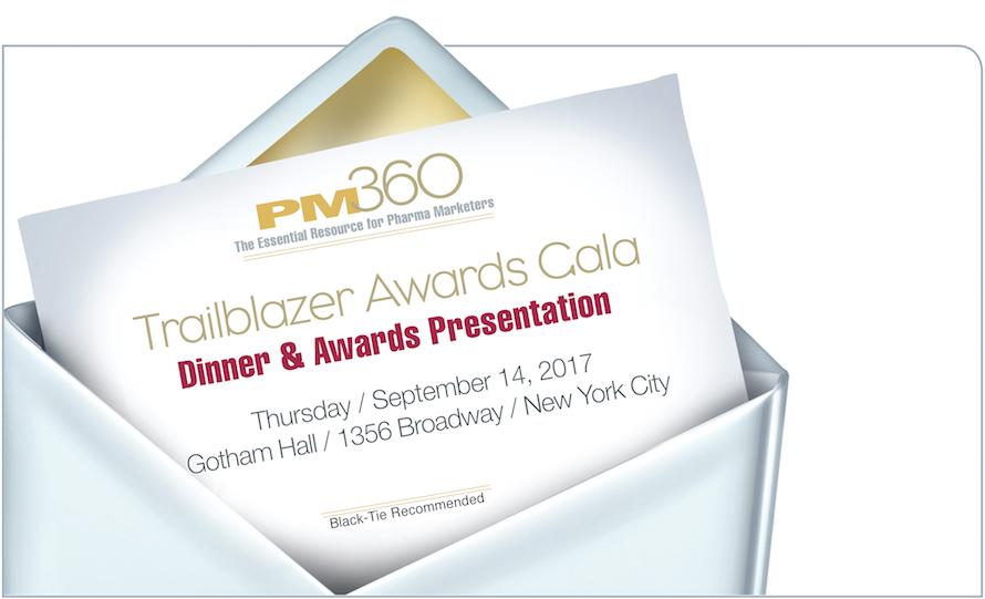 PM360 2017 Trailblazer Awards Gala Dinner & Presentation