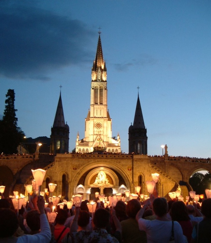 Lourdes Candlelight Procession