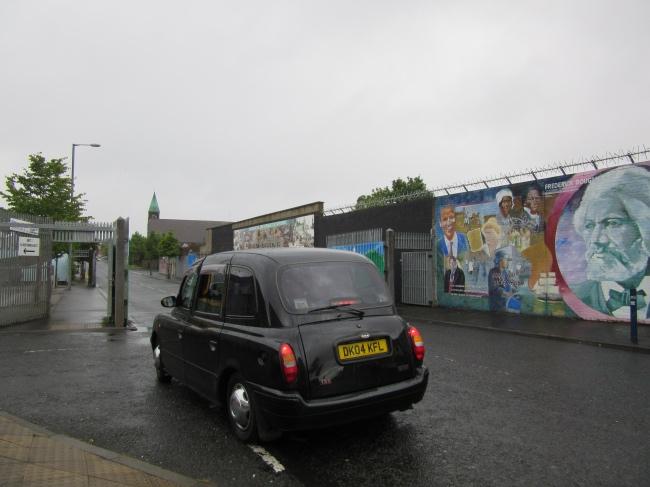 Belfast Black Taxi Tour
