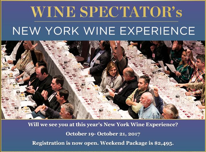 2017 New York Wine Experience