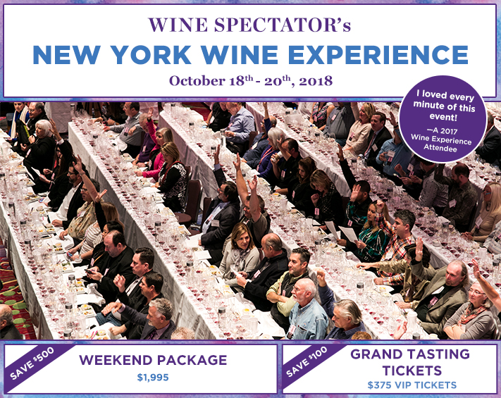 2018 New York Wine Experience