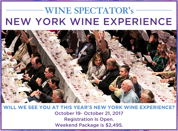 2017 New York Wine Experience