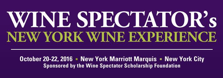 2016 New York Wine Experience