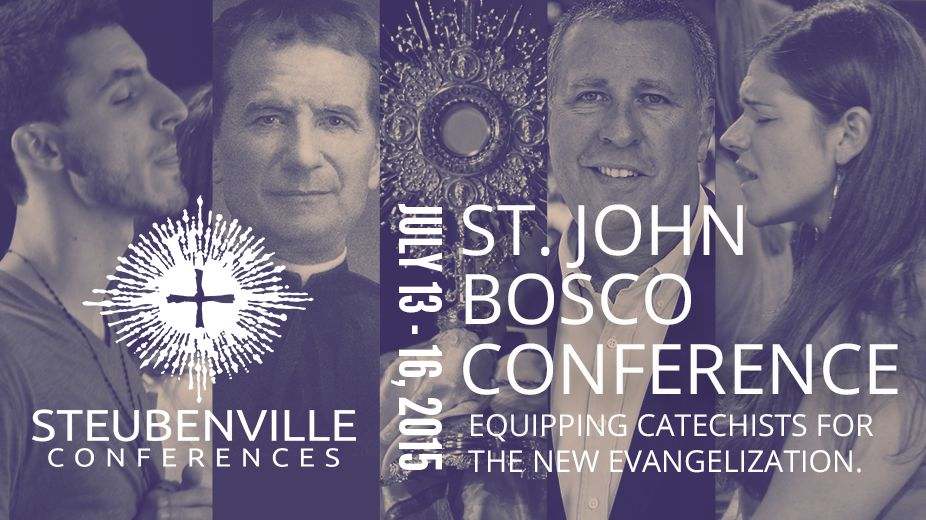 St. John Bosco Conference July 13-16, 2015