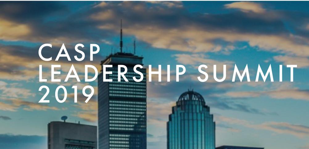 2019 CASP Leadership Summit