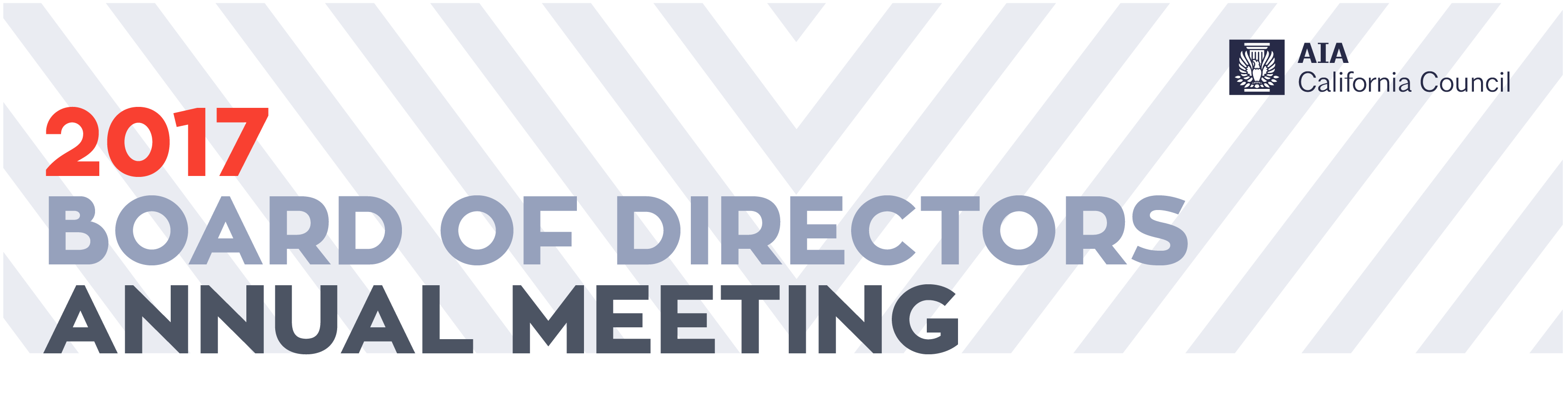 2017 AIACC Board of Directors Annual Meeting