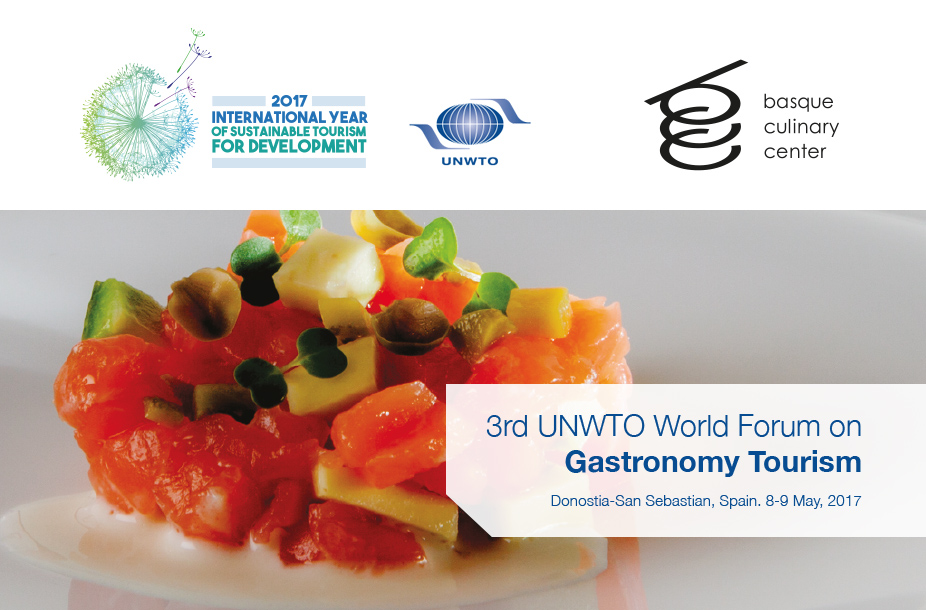 3rd UNWTO World Forum on Gastronomy Tourism