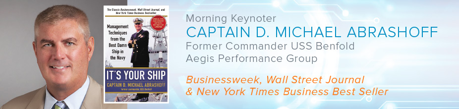 Keynoter Captain D. MIchael Abrashoff