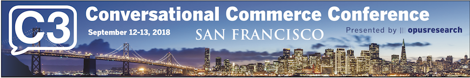 Conversational Commerce Conference SF 2018
