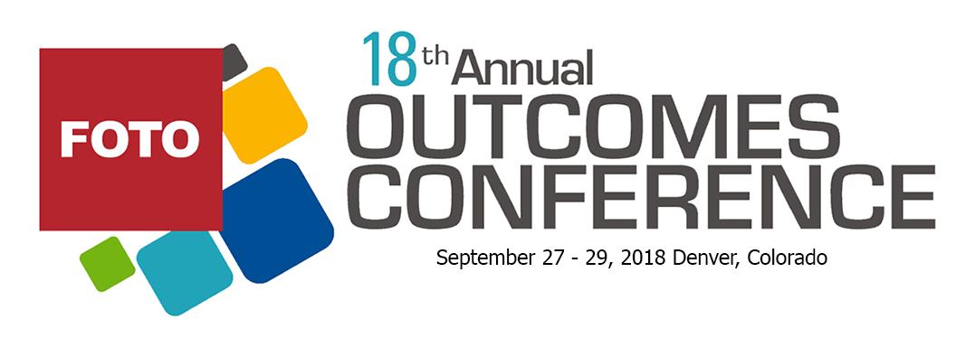FOTO Outcomes Conference 2018
