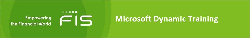 Microsoft Dynamics Training