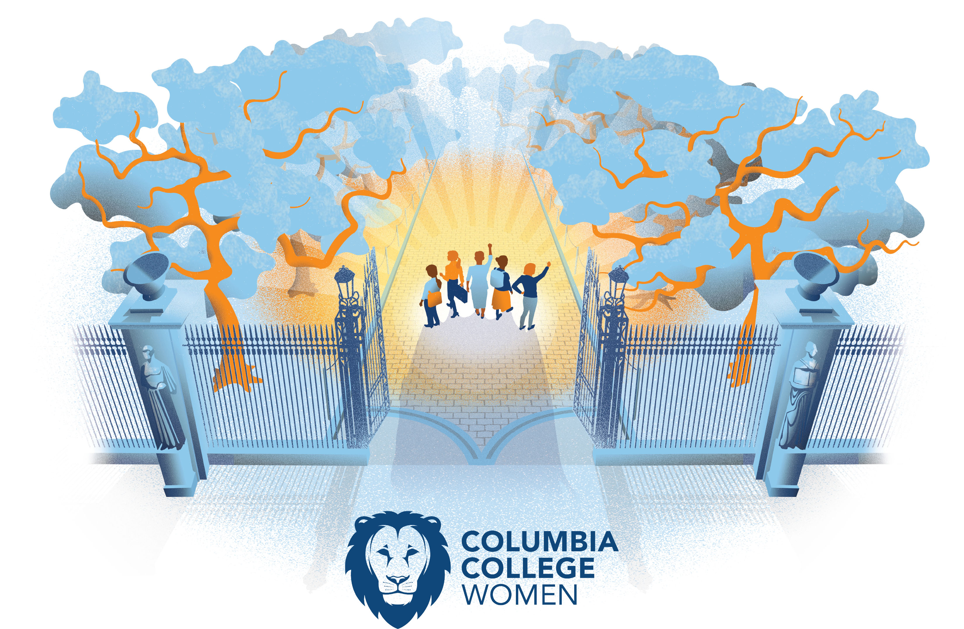 Celebrating 30 Years of Columbia College Women
