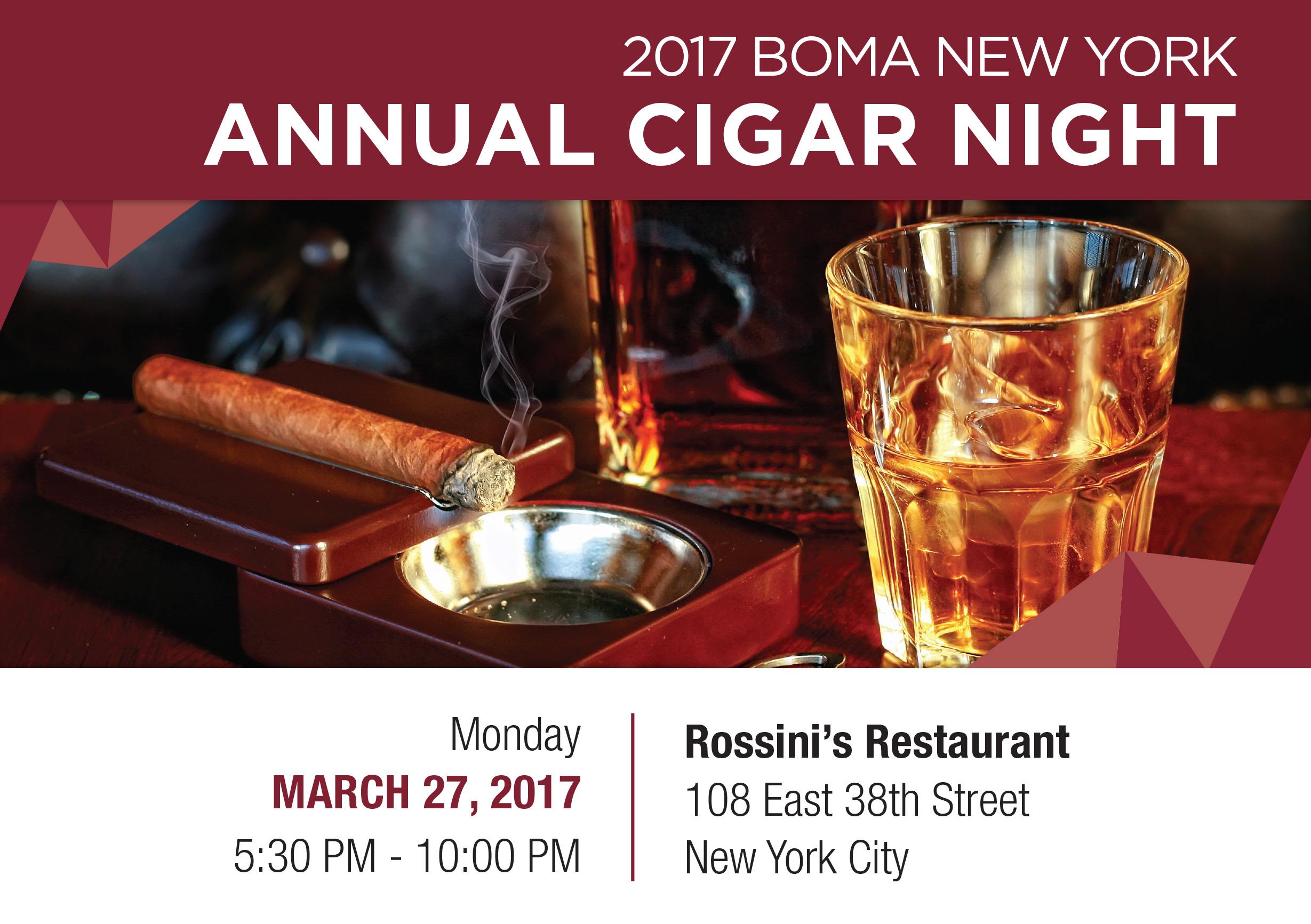 BOMA/NY Cigar Night