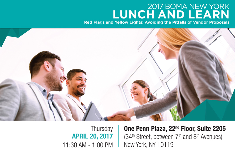 Lunch & Learn: Red Flags & Yellow Lights - Avoiding the Pitfalls of Vendor Proposals