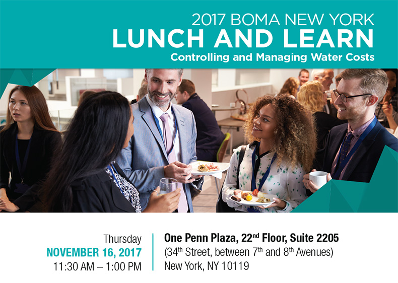 Lunch & Learn:  Controlling and Managing Water Costs