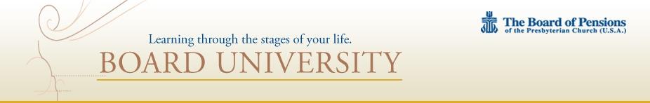 Board University logo