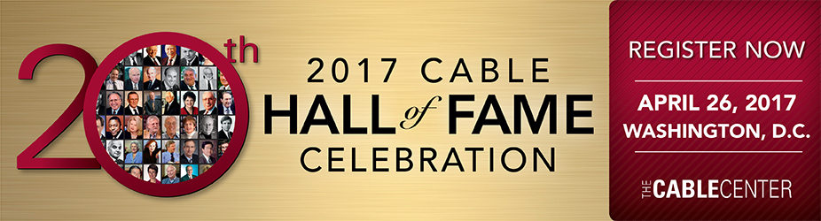 The Cable Hall of Fame Dinner 2017