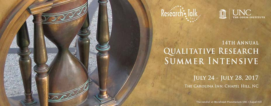 14th Annual Qualitative Research Summer Intensive