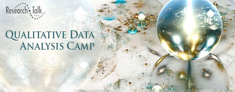 Qualitative Data Analysis Camp - Nov 2020