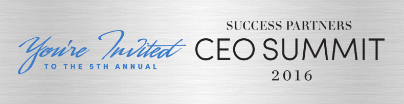 SUCCESS Partners CEO Summit 2016
