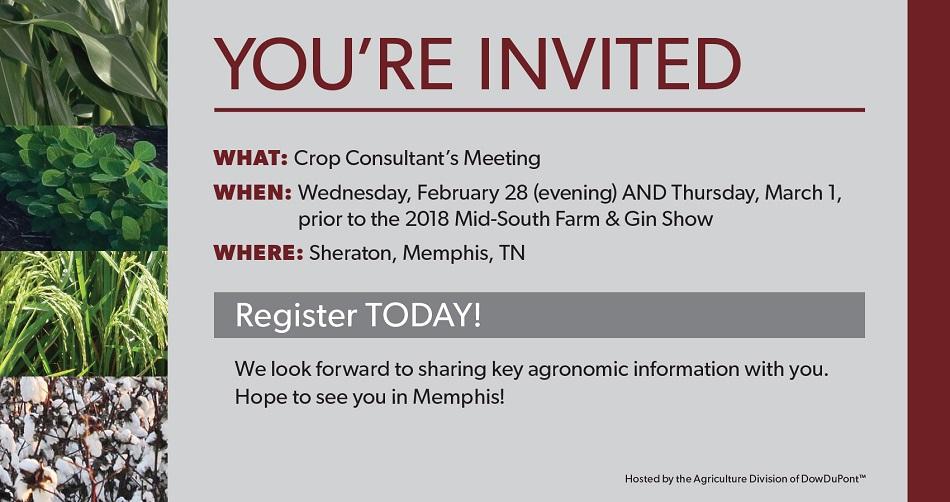2018 Crop Consultant Meeting