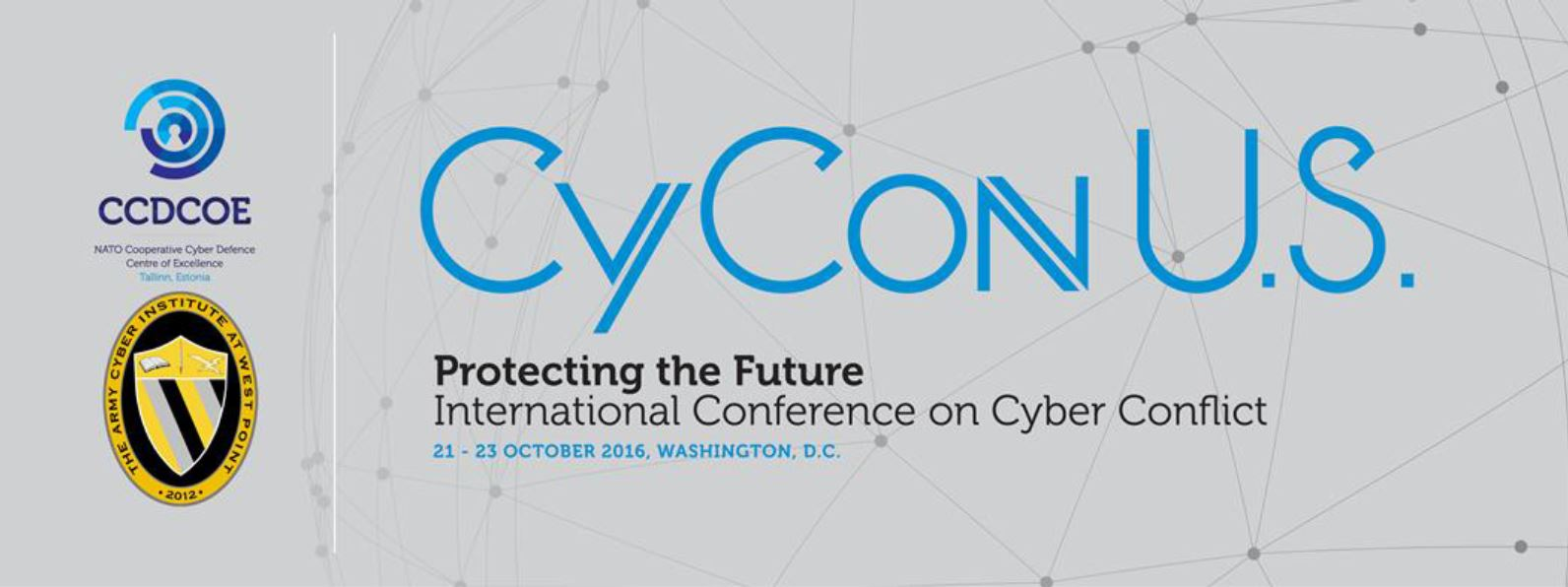CyCon U.S. 2016 - Conference on Cyber Conflict