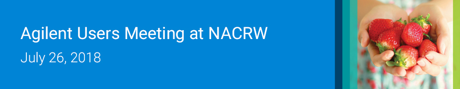 Agilent User Meeting at NACRW