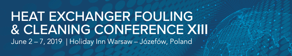Heat Exchanger Fouling and Cleaning Conference XIII