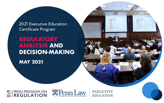 2021 Regulatory Analysis and Decision-Making