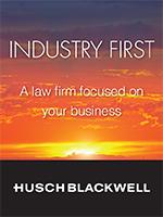 HuschBlackwell newsletter ad