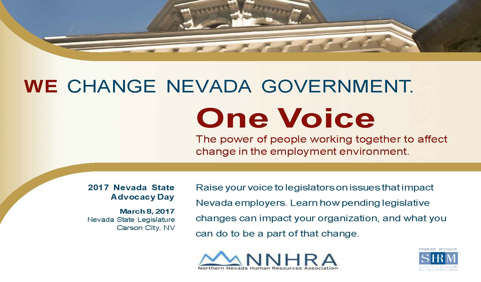 Northern Nevada Human Resources Association Postca