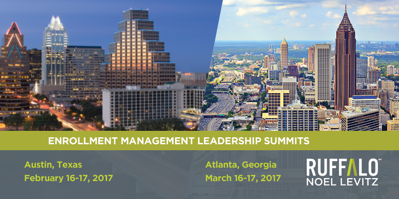 Enrollment Management Leadership Summits