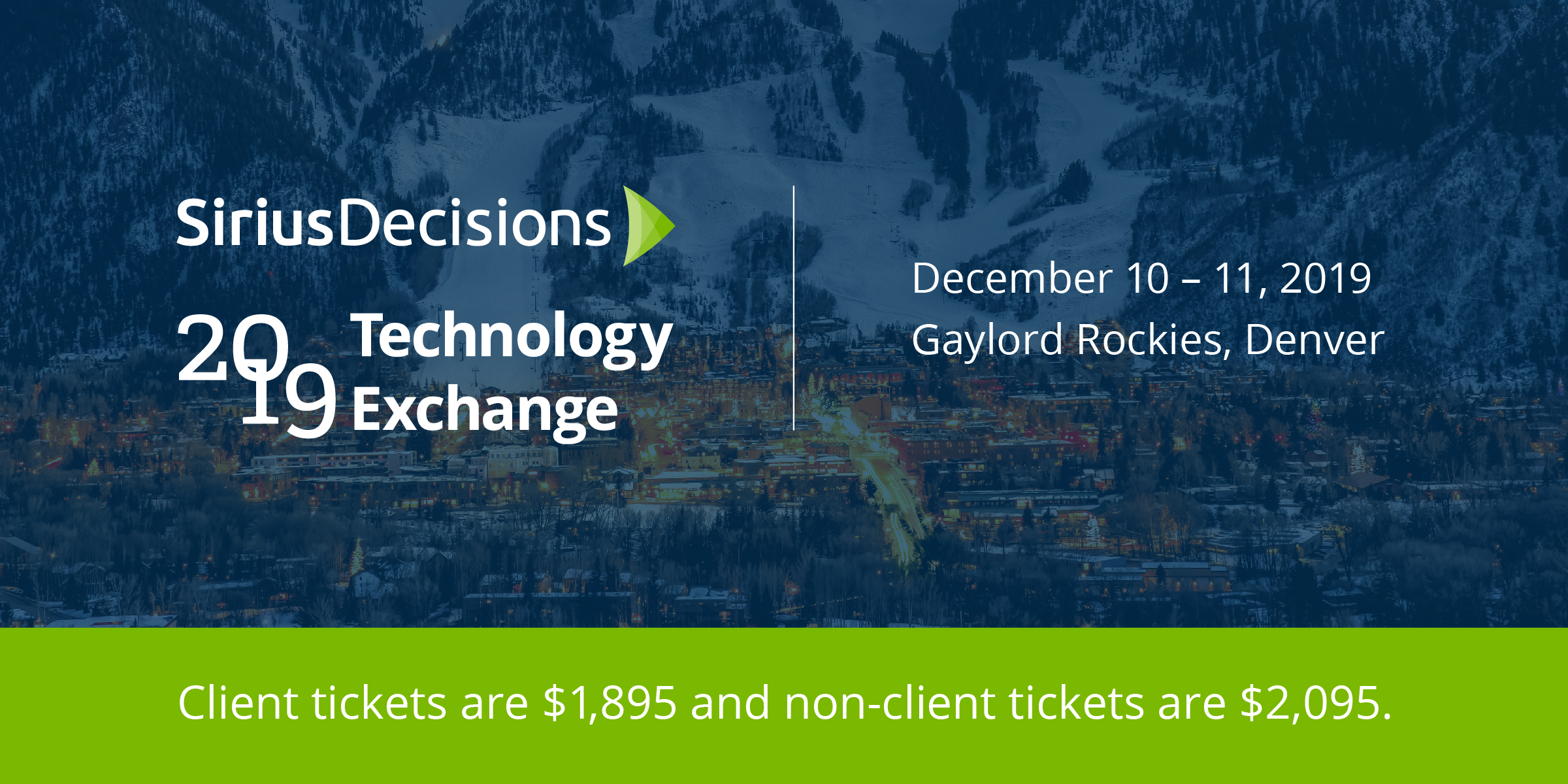 SiriusDecisions 2019 Tech Exchange