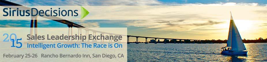 SiriusDecisions' 2015 Sales Leadership Exchange